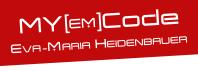 Eva Maria Heidenbauer MY [EM] Code Logo